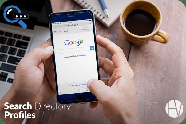 Search Directory Profiles