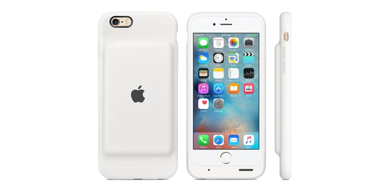Apple's New Smart Battery Case Gives Your iPhone 25 Hours of Battery Life