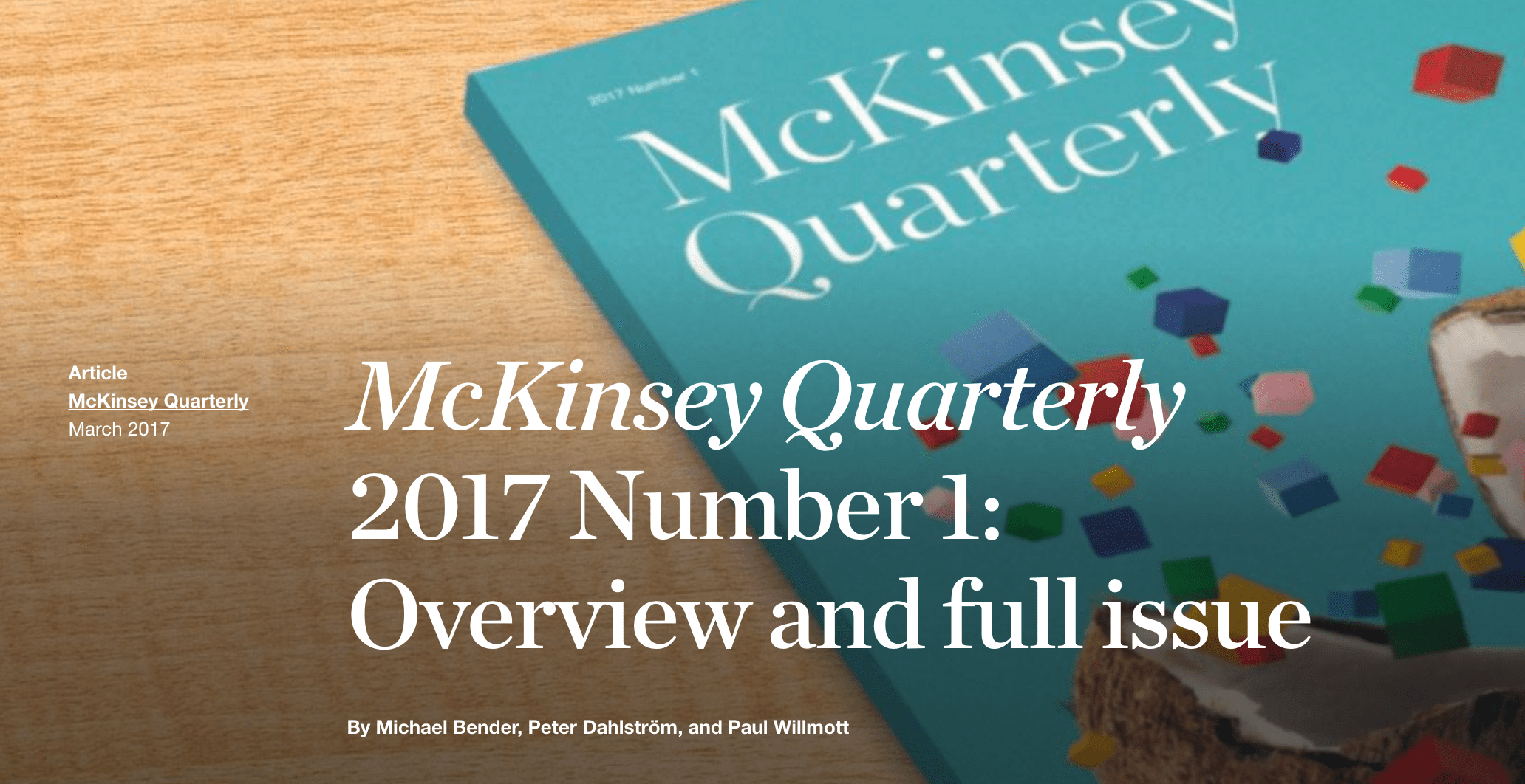Read our featured insights  McKinsey amp Company