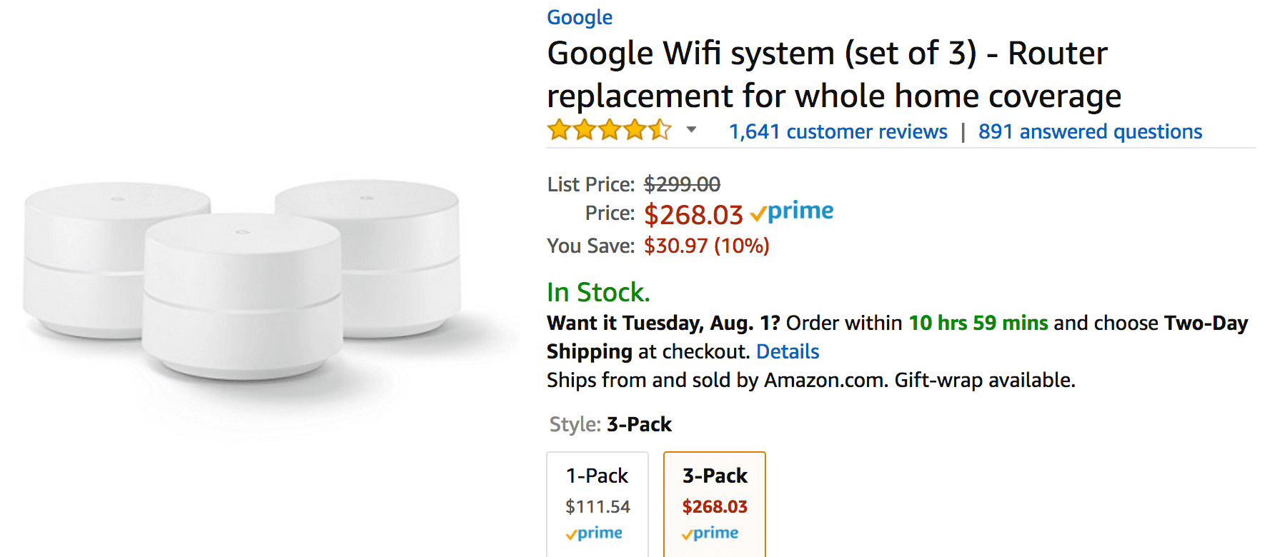 Google Wifi is becoming everyone's favorite mesh system